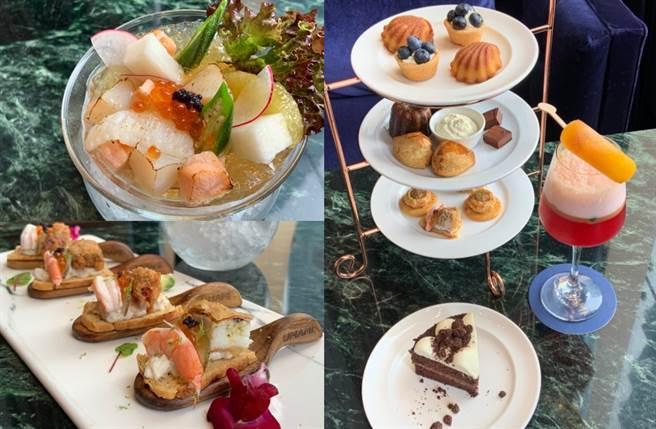 「UMAMI」以鮮味為料理靈魂,嚴選多項特級海鮮食材入菜,提供饕客更多風味的選擇。(圖/楊婕安攝)
