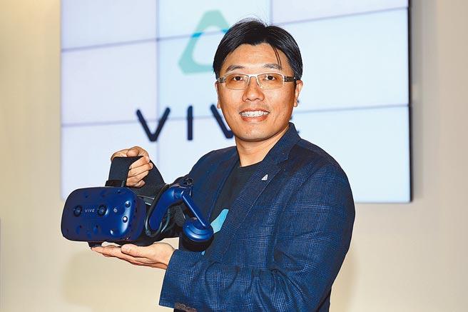 宏達電企業解決方案副總經理鮑永哲(鮑永哲提供)