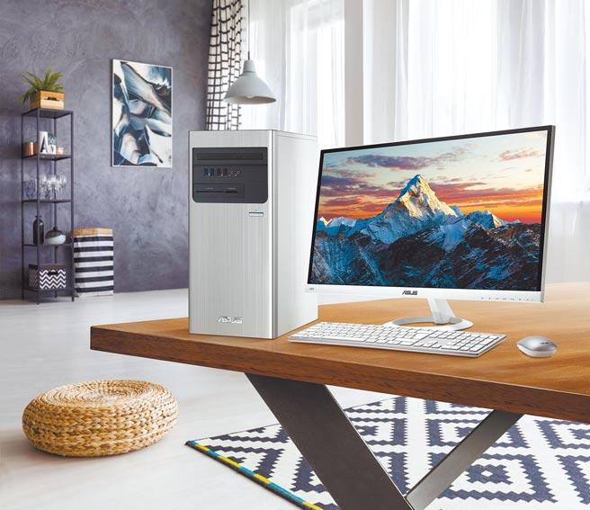 華碩的ASUS S700TA桌上型電腦,定價2萬2990元起。(華碩提供)