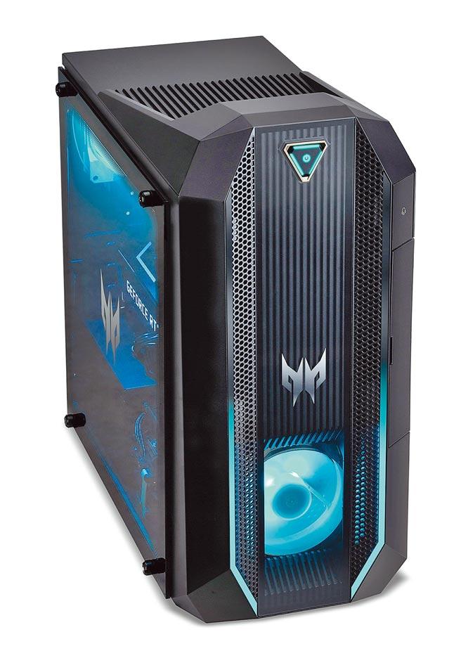 宏碁的Predator Orion系列,定價5萬6900至6萬2900元。(宏碁提供)
