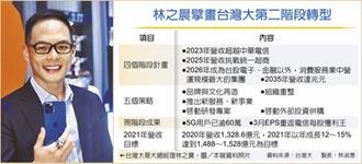 林之晨談目標 台灣大營收 後年要勝中華電