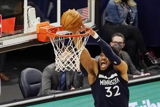 NBA》難堪啊! 聯盟第一強隊爵士連敗墊底球隊灰狼兩次