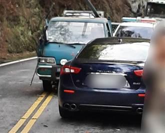 賠慘了!小貨車超車撞對向600萬瑪莎拉蒂 維修費超驚人