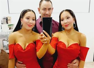 共用男友9年洗澡床戰都三人行 雙胞姊妹羞曝激情房事遭轟
