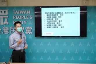 宣傳公投「兩好兩壞」主張 民眾黨5月2日啟動逾500場次宣講