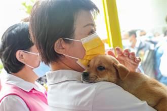 動物之家后里園區守護毛小孩 盧秀燕:打造動物友善城市