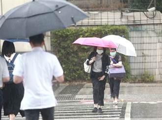 对流长出来了 西半部午后雷雨爆发 日月潭超期待