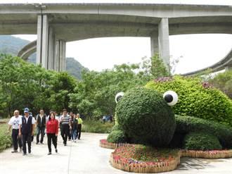 橋聳雲天水泥叢林 4000萬打造變身綠雕公園