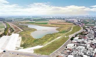 台南最大滯洪池周邊景觀改善竣工 居民休憩新所在