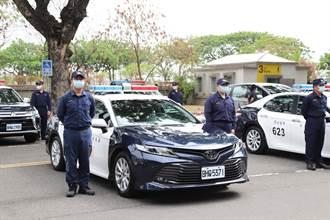 新購警車報到 嘉義警行動力大躍進