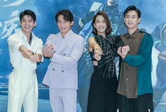 溫昇豪、陳庭妮演完《火神》太有感 路邊看消防隊出勤務就哭了