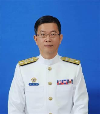 海軍潛艦小組邵維揚少將 升任國防部中將參事