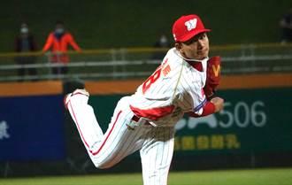 中職》與古林睿煬同場競技 徐若熙生涯首度投滿5局