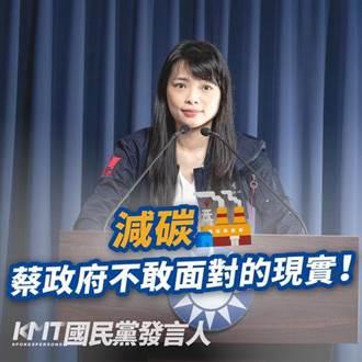 國民黨批判蔡政府能源政策 8成來自火力發電