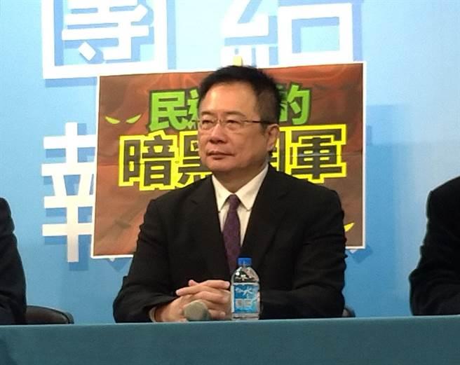 國民黨前副祕書長蔡正元。(資料照)