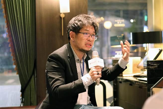 YouTube創辦人陳士駿說,幸好我們選擇留在台灣。(主辦單位提供)