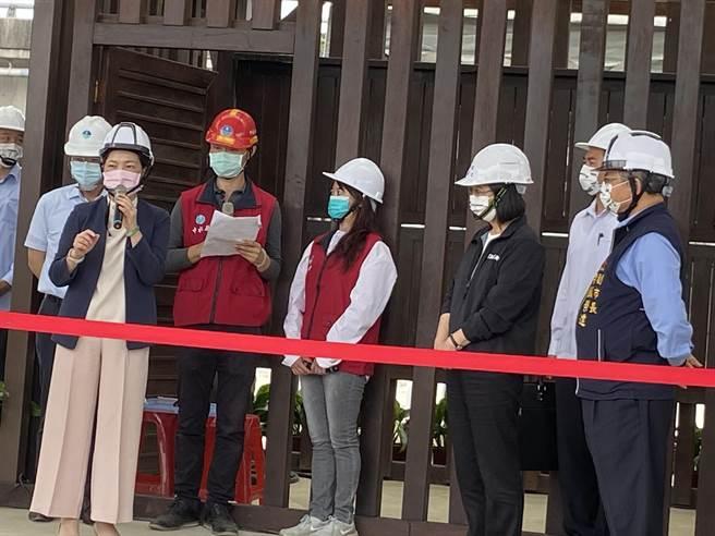 經濟部長王美花27日表示,希望在真正雨季來臨之前,維持目前供5停2,不會有進一步的措施。(盧金足攝)