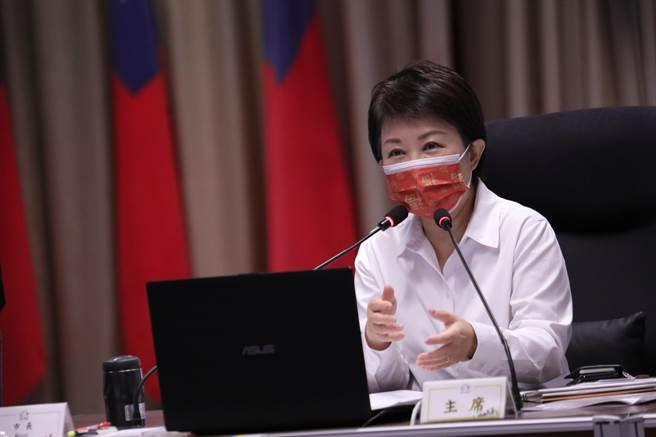 台中市長盧秀燕表示,市府打造台中成為友善之都,讓動物在台中快樂生活。(盧金足攝)