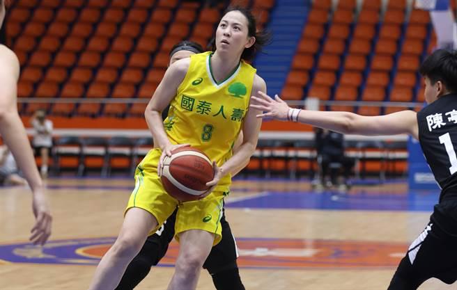 黃鈴娟今天比賽攻下全場最高14分。(中華籃協提供)