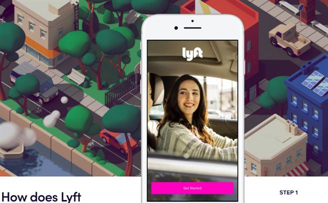 美國叫車服務公司Lyft將其自動駕駛汽車部門,出售給了豐田子公司。圖/取材自Lyft官網