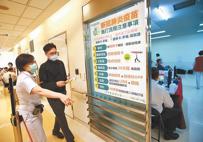 截至4月25日,全台累計接種新冠肺炎疫苗人數約4.2萬人。圖/本報資料照片