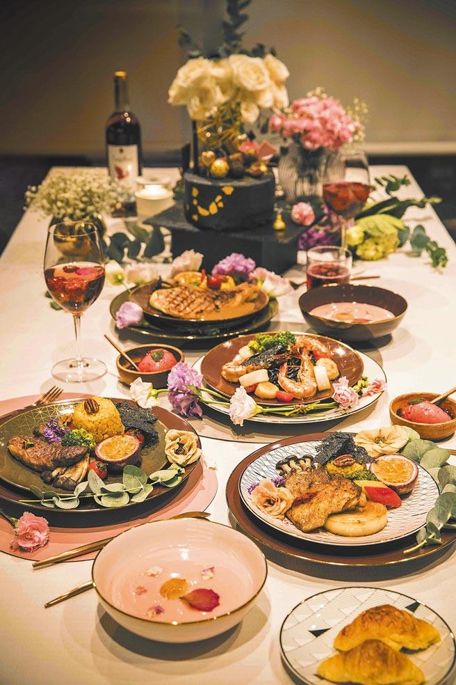 HOLA母親節私廚服務開放預約,有4人、6人、8人可選,價格在8800至1萬7600元之間。(HOLA提供)