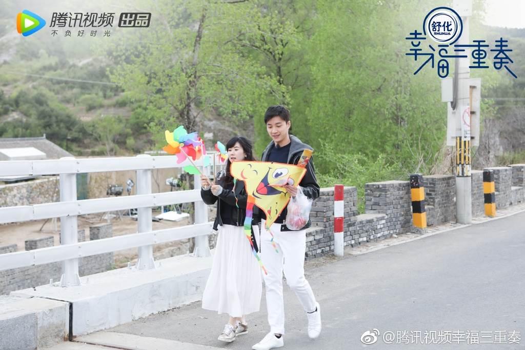 江宏傑上周已向法院遞狀訴請離婚。(圖/翻攝自騰訊視頻幸福三重奏微博)