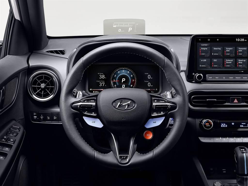 品牌首款純正性能跑旅 Hyundai KONA N 宣戰性能休旅列強
