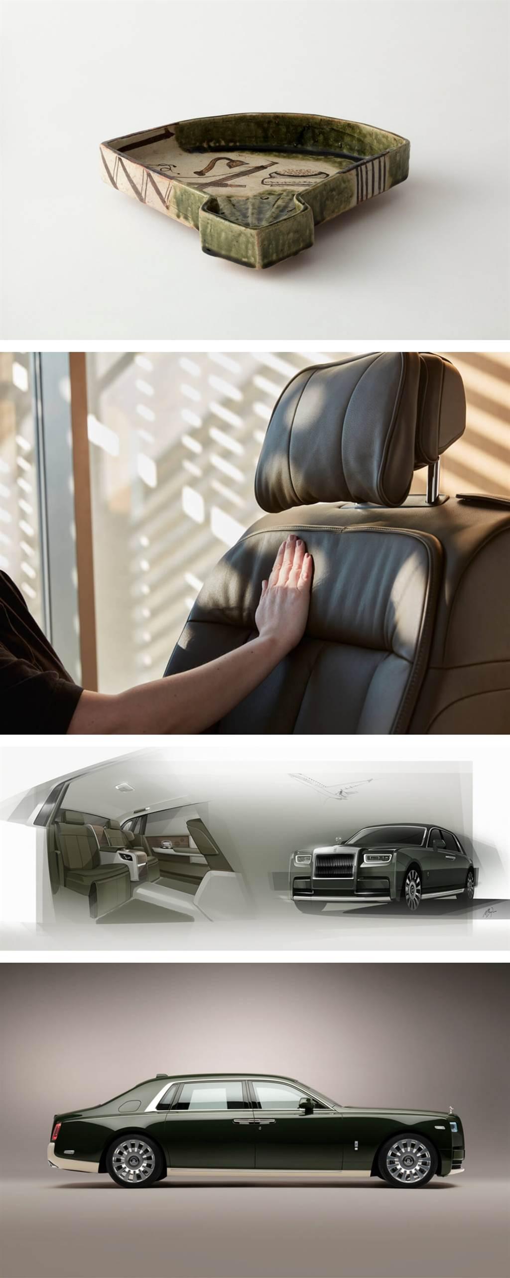 Rolls-Royce與愛馬仕合作推出聯名定制Phantom Oribe