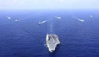 遼寧號北上東海 艦載直升機一度接近釣魚台