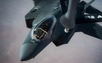 美F-35戰機要對抗陸 還得多加油
