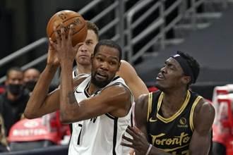 NBA》籃網擊退暴龍 東區首支進季後賽球隊