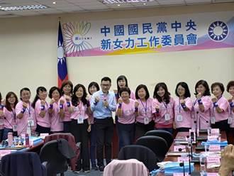 催公投票及備戰2022  國民黨成立新女力工作委員會