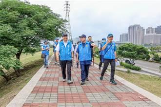 竹縣頭前溪北堤高灘地 6千萬打造親子運動休憩新綠帶