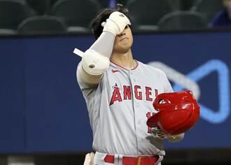 MLB》大谷翔平勝投後請纓打擊 結果4支0