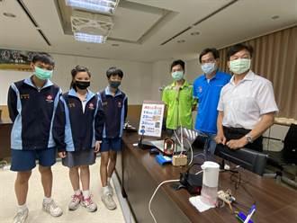 10秒搞定 台南復興國中AI防疫系統奪金