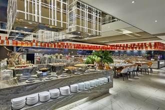 板橋凱撒朋派自助餐 身分證有「5」即享同桌主菜半價優惠