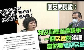 葉毓蘭》用警察侵害人民表意自由?!
