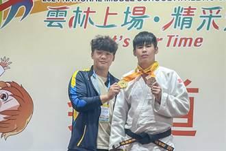 竹县仰德高中柔道队成军2年 全中运都夺牌