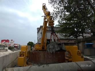 南市汙水工程施工挖斷地下電纜 4000戶瞬間停電引虛驚