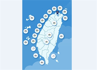 全台雨下最多的地區在哪?台南累積雨量令人擔憂