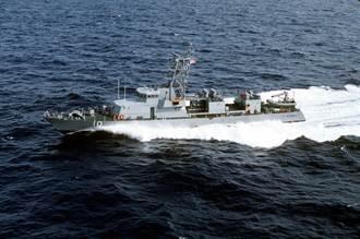 美軍巡邏艦向伊朗武裝快艇警告性開火