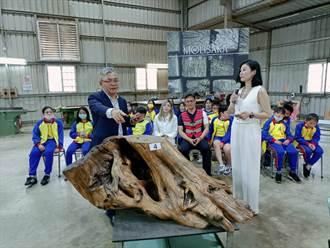 木材業者捐拍賣73萬收入 培育原鄉國小藝術種子