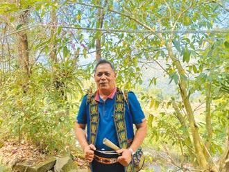 賴榮賢愛石雕 傳承布農族文化