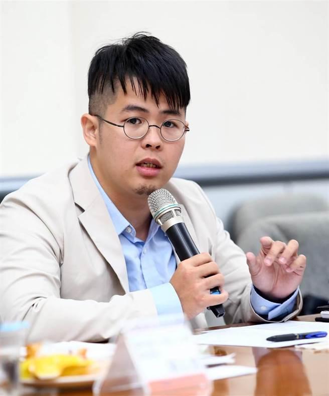 国民党青年部主任陈冠安。(中时资料照)