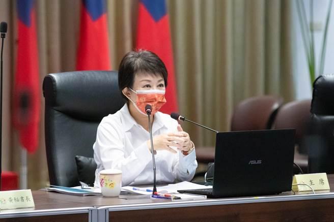 台中市長盧秀燕表示,治安工作需區域互相合作,市府將持續努力,守護城市安全。(盧金足攝)