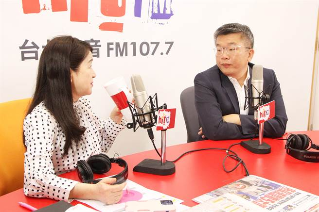 2022台中市长选举又遇「韩流」  蔡其昌:那就是命啊!Hit Fm《周玉蔻呛新闻》制作单位提供
