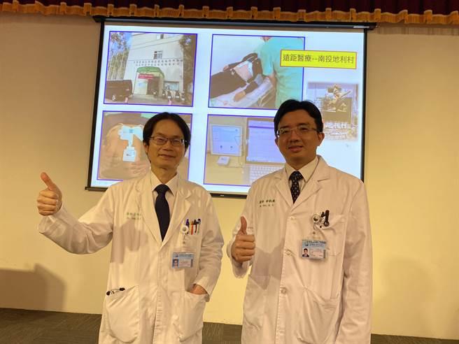 中國醫藥大學研發人工智慧心電圖,採「急性ST段上升型心肌梗塞」判讀模型,結合對12項心律不整的判斷。(張妍溱攝)