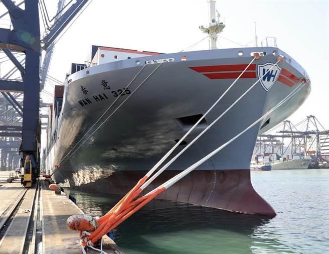 万海今年增添21艘船舶,成功抢占高运费市场。(图/万海提供)