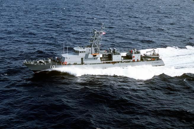 美國海軍PC-10 霹靂號近岸巡邏艦。(圖/美國海軍)